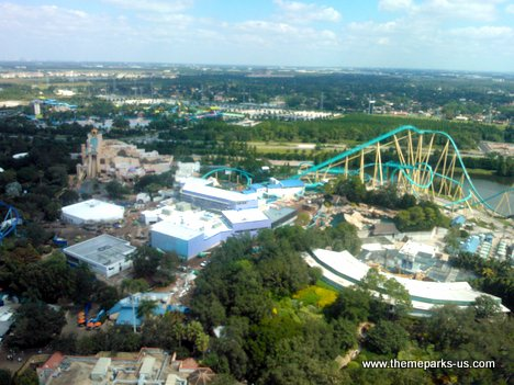 SeaWorld Orlando Construction Photos
