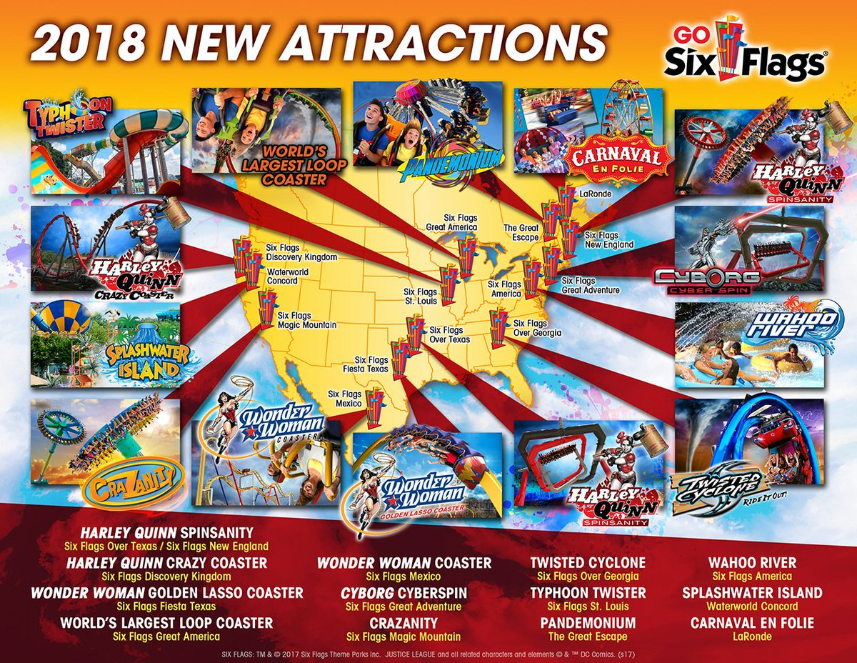 new-rides-at-six-flags-parks-in-2018