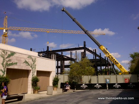 Universal Studios Florida Construction Photos